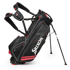 Srixon Z-Four Stand Bag,Black/Red