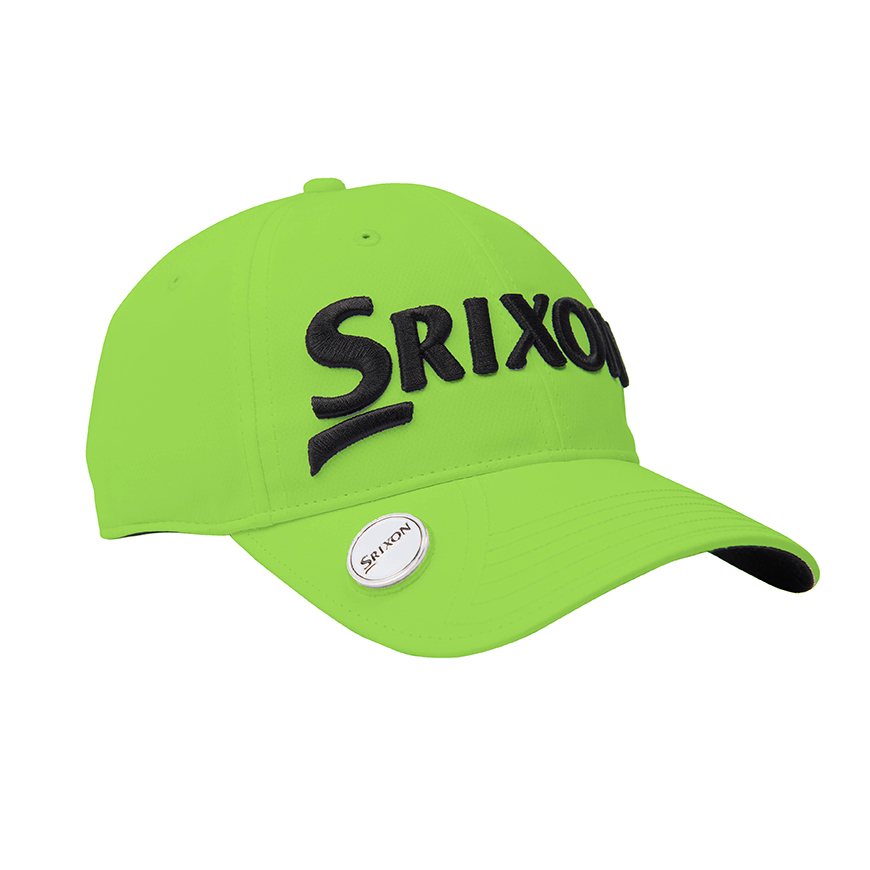SRX Magnetic Ball Marker Cap,Grass Green/Black