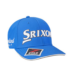 SRIXON TOUR STAFF CAP,Electric Blue