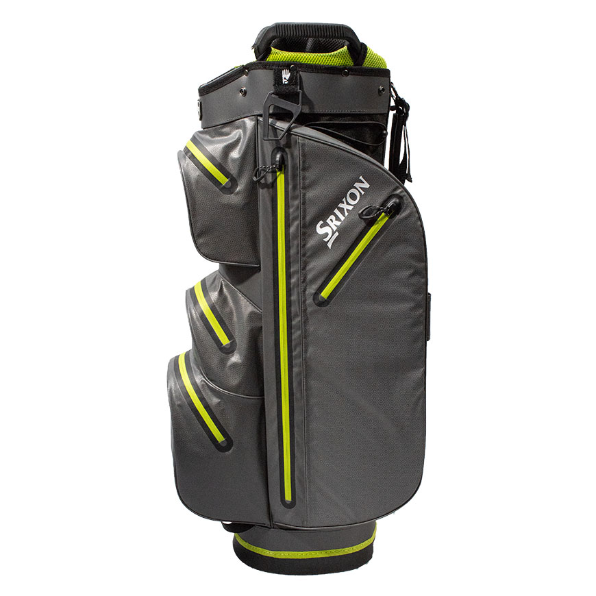 Srixon Waterproof Ultradry Cart Bag,Black/Lime