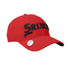 SRX Magnetic Ball Marker Cap,Red/Black