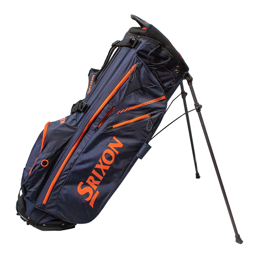 Srixon Nimbus Ultra Lite Stand Bag,Blue/Bright Orange